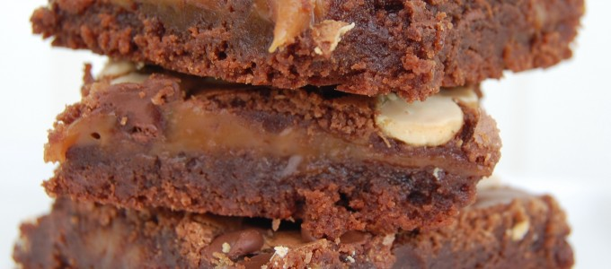 brownies caramel
