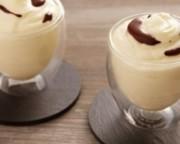 mousse chocolat blanc sauce cacao