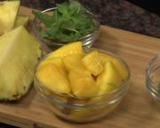 recette brunch kiwi mango mint