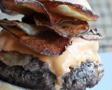 cheeseburger chips bacon cheddar