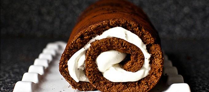 roule cake chocolat