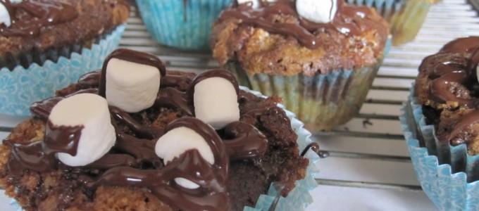 cupcakes smores