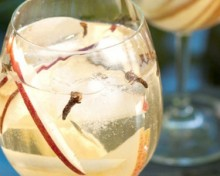 sangria champagne cocktail