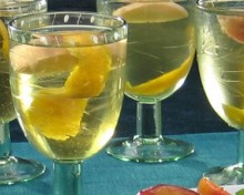 vin blanc lillet cocktail