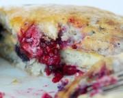 pancakes fruits rouges brunch