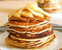 pancakes pommes acidulees