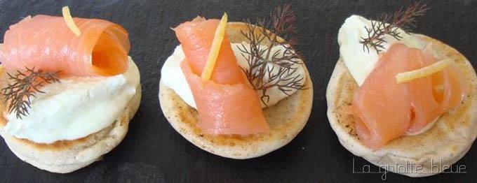 blinis sarrasin saumon