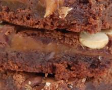 brownies caramel