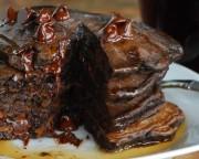 pancakes chocolat