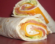wraps saumon fume mimolette