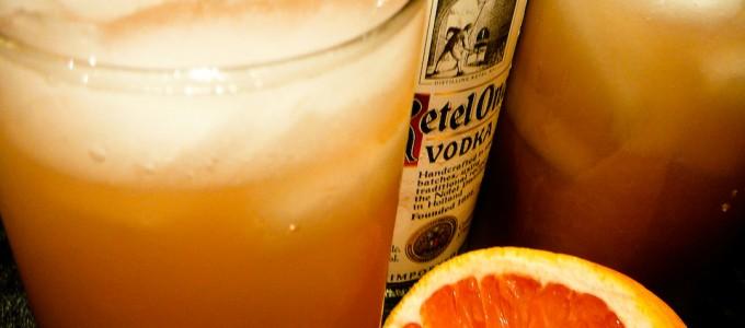 pineapple greyhound cocktail