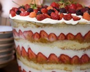 trifle fruits rouges