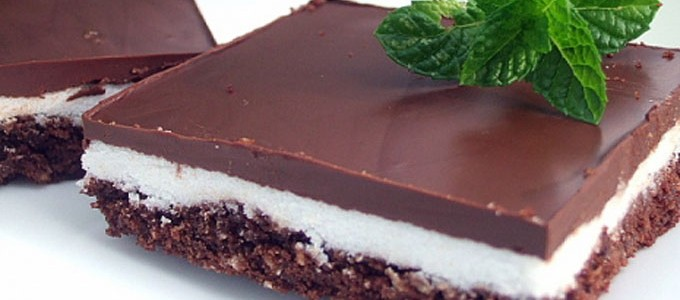 carre chocolat menthe