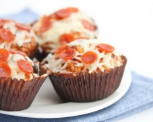 cupcakes pizza brunch
